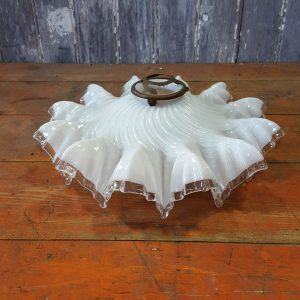 French Frilly Handkerchief Opaque Shade