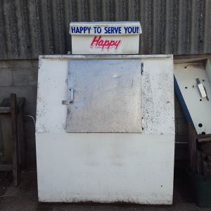 Large Outdoor Ice Vending Unit