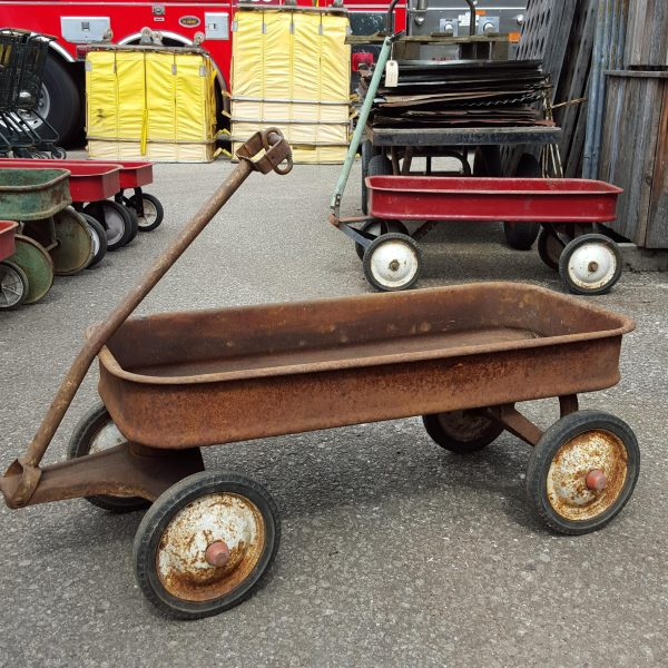 Vintage Pull Along Trolley