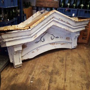 Reclaimed Decorative White Archway Top