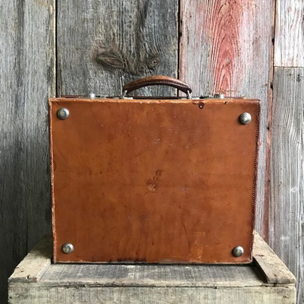 Edwardian Vanity Case With Silver Accessories