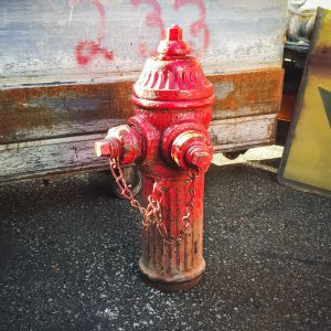 Original American Red Ludlow Fire Hydrant
