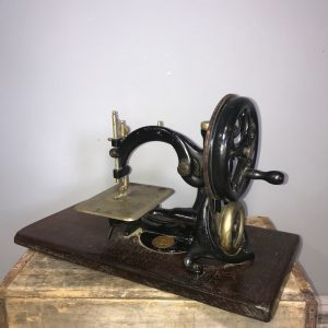 Vintage Wilcox & Web Chainstitch Hand Crank Sewing Machine