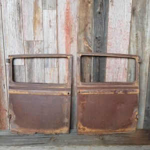 Pair Of Vintage 1938 Studebaker Doors