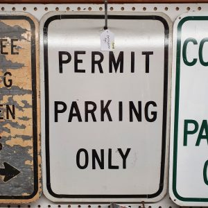 Parking Road Sign