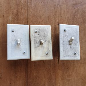 Old American Light Switches