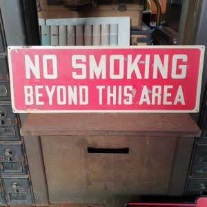 American No Smoking Sign