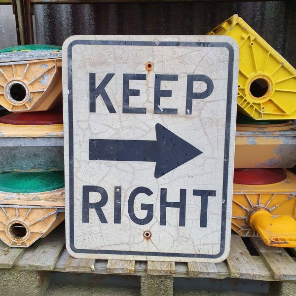 Sign Keep Right