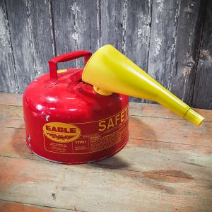 Vintage American Red Eagle Gas Can