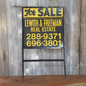 American For Sale Sign