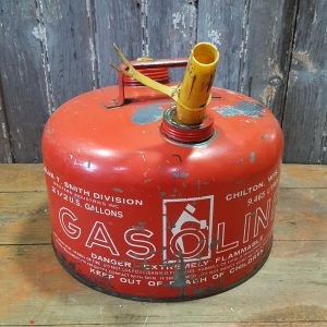 Vintage American Red Gas Can