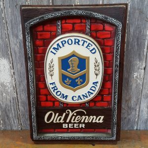 American Old Vienna Beer Sign