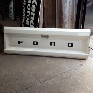 White Ford Tailgate