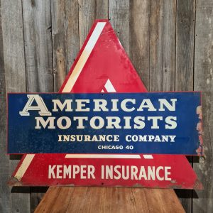 Vintage Advertising Sign American Motorists