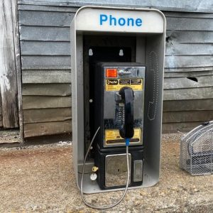American Pay Phone Booth