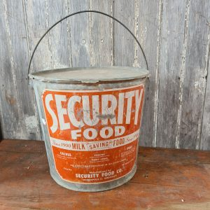 Security Animal Food Can
