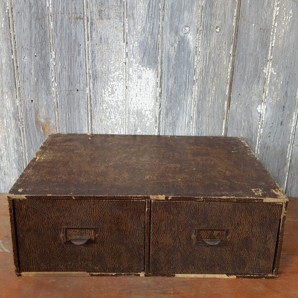 Wooden Double Drawers
