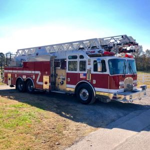 American Aerial Ladder Fire Truck