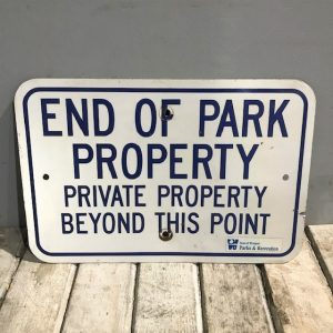 American Parks & Recreation Sign