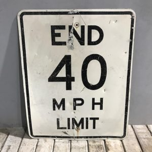 American Road Sign Speed Limit