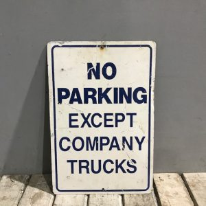 American Truck Parking Sign