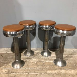 American Vintage Fountain Diner Bar Stools