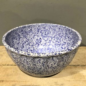 Blue Mid Century Boonton Mixing Bowl
