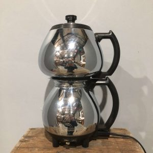 Chrome Double Coffee Peculator
