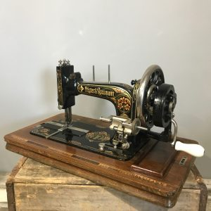 Frister & Rossmann Hand cranked Sewing Machine