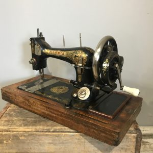 Gloria Vintage Hand Crank Sewing Machine