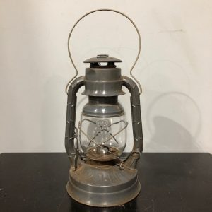 Grey Painted Storm Lantern