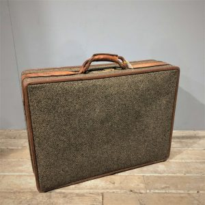 Hartmann Tweed Vintage Suitcase