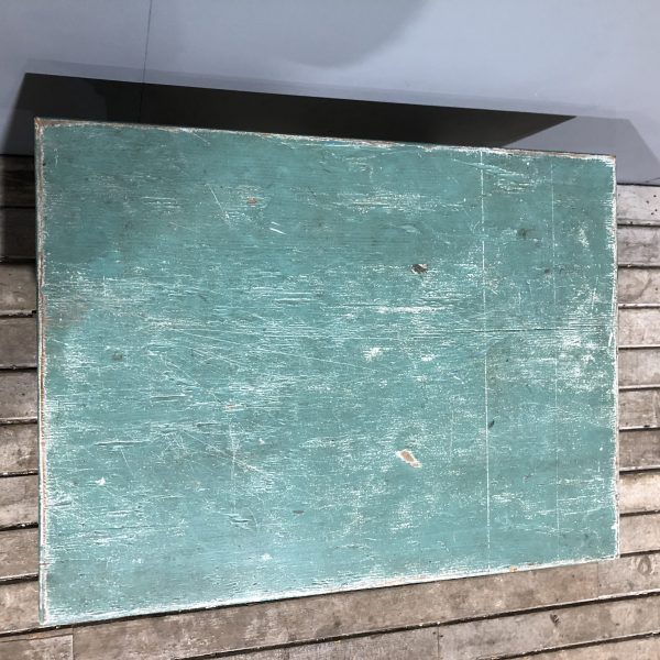 Small Green Painted Table Stand
