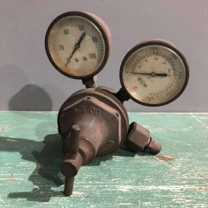 Vintage Pressure Regulator Gauge