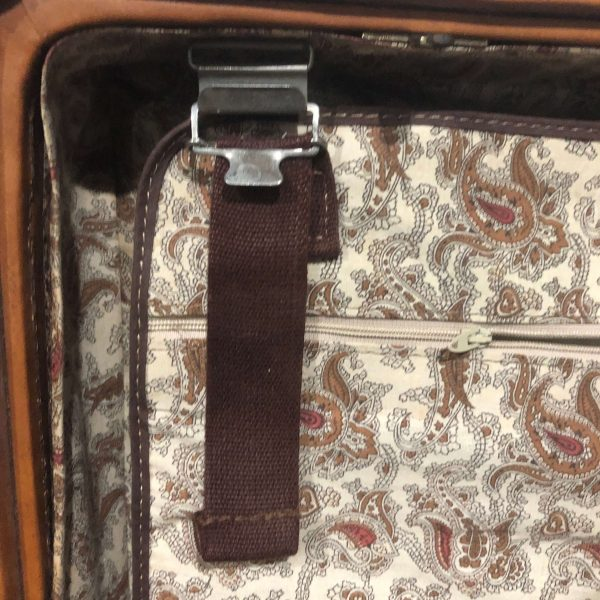 Mid Century Hartmann Suitcase With Labels