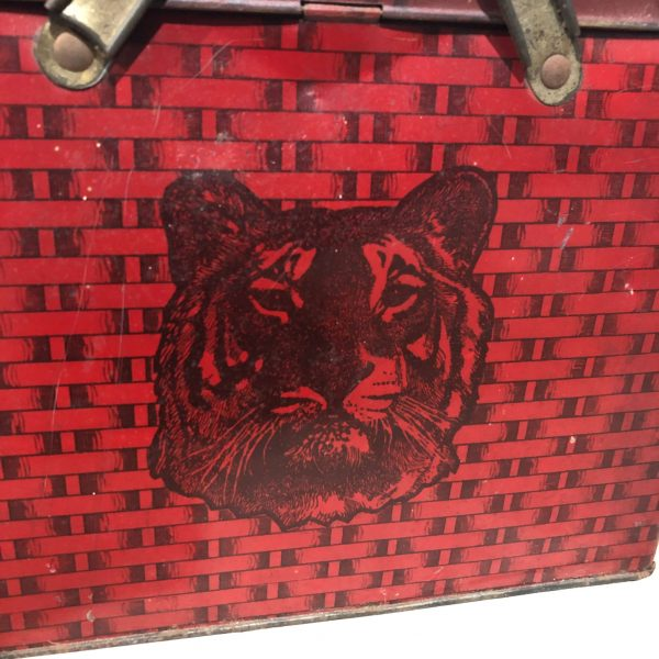 Tiger Chewing Tobacco Tin
