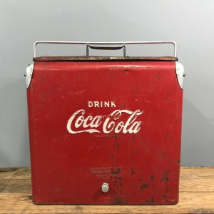 Vintage Coca Cola Cooler Box