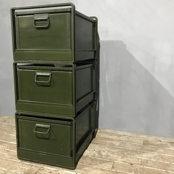 Industrial Stacking Factory Drawers