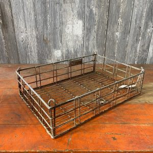 Vintage Wire Carry Crate