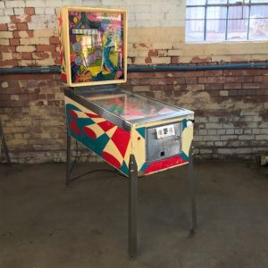 Segasa Baby Doll Pinball Machine