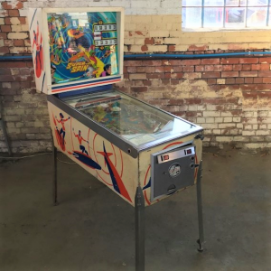 Gottlieb's Super Spin Pinball Machine
