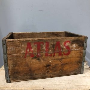 Atlas Beverages Vintage Crate