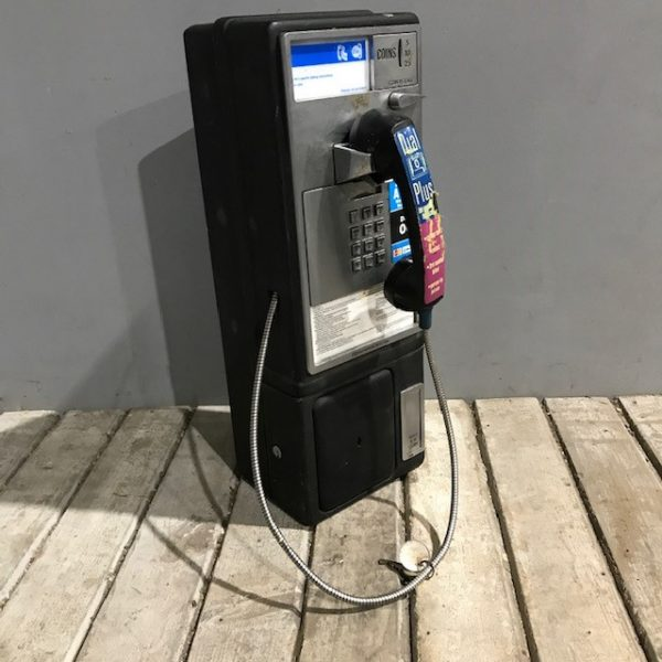 American Wall Payphone