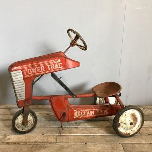 1950's Vintage Ride On Tractor Toy