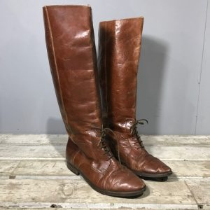 Women's Vintage Riding Boots.