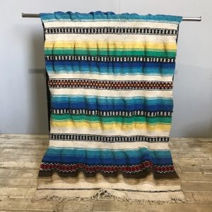 Vintage Mexican Style Falsa blanket
