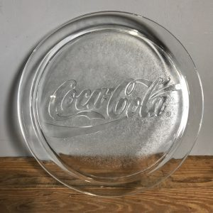 Vintage Coca Cola Glass Tray