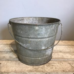 Small Vintage Galvanised Pail