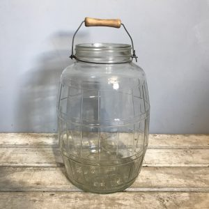Large Vintage Pickle Jar