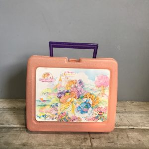 Vintage Lady Lovely Locks Lunch Box